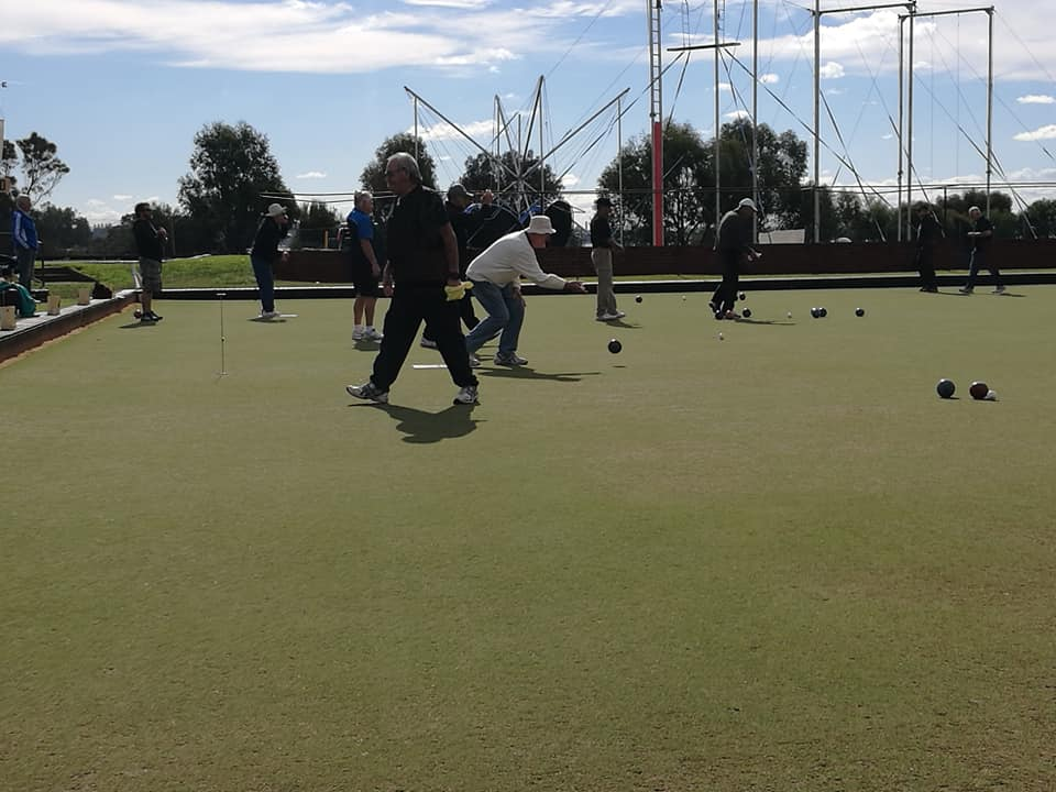 Friday Afternnon Pairs at Melville Bowling Club