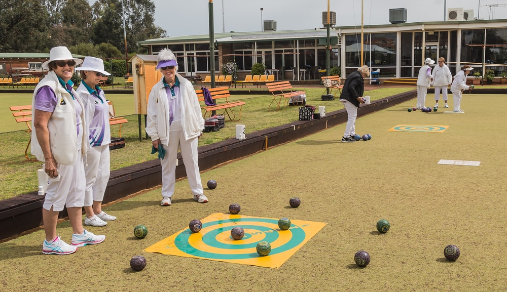 Melville Bowling Club Ladies Target Pratice