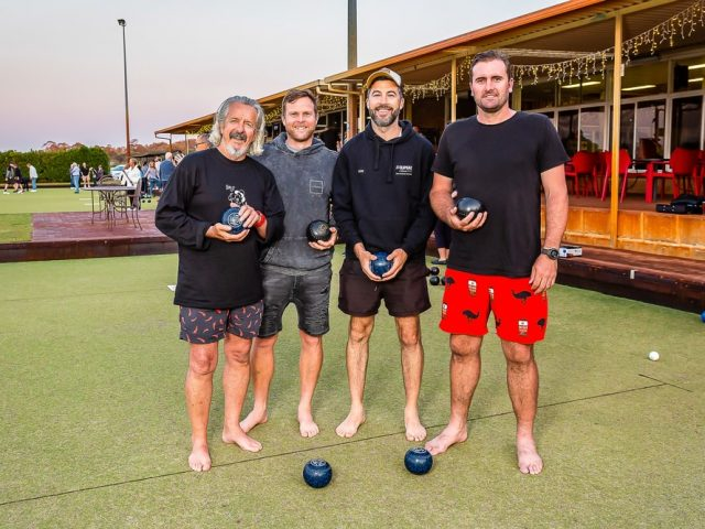 Melville Bowling Club Barefoot Bowls