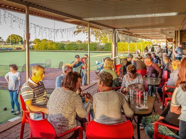 Melville Bowling Club Veranda